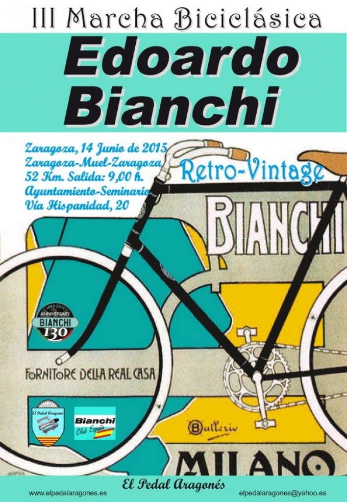 III Marcha Biciclásica Edoardo Bianchi
