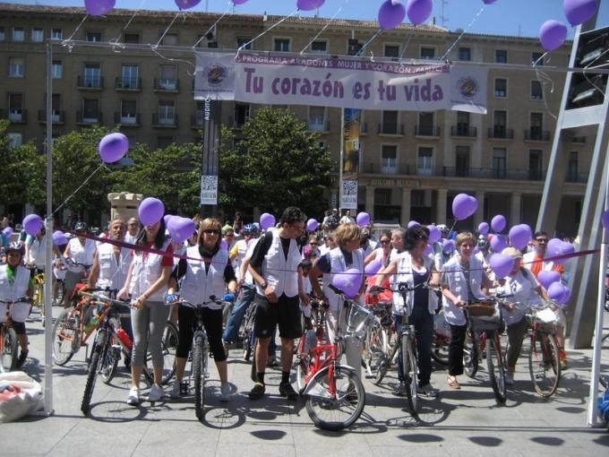 II Marcha Urbana Mujer y Corazón