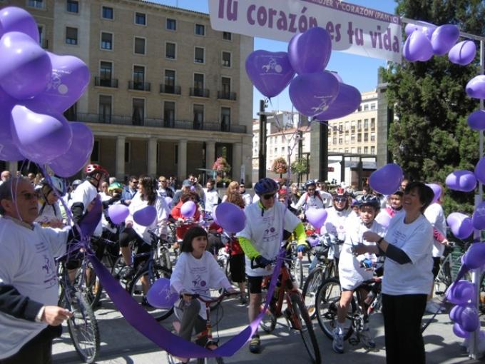 I Marcha Urbana Mujer y Corazón