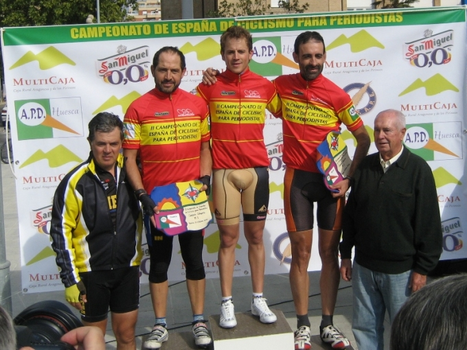 II Campeonato de España de Ciclismo para Periodistas