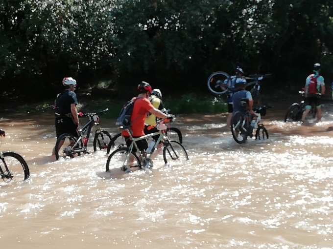 Salidas Carretera y Btt (Cariñena)-(Descenso del Canal)