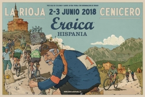 Cartel Eróica Hispania 2018