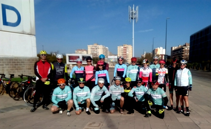 Salidas Carretera y Btt (Valmadrid)-(Montes Blancos)